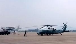 Boeing C-17 chở trực thăng Marine One của Tổng thống Mỹ tới TP HCM