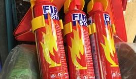 Trời nóng, bình chữa cháy trên ôtô dễ phát nổ
