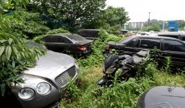Chùm ảnh: Hàng trăm siêu xe hạng sang bị bỏ xó ở Trung Quốc
