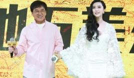 Thành Long bất ngờ thân mật với Phạm Băng Băng trên sóng truyền hình