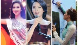 Hoa hậu Việt và những lần muối mặt vì trình độ ngoại ngữ