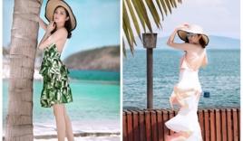 Hoa hậu Đông Nam Á Diệu Linh gợi ý trang phục đi biển