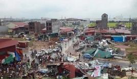 Lốc xoáy như phim kinh dị ở Bắc Ninh