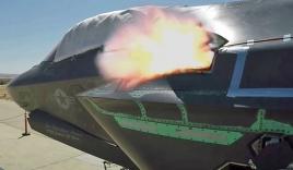 Pháo Gau-22 nã đạn xối xả trên siêu tiêm kích F-35B