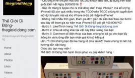 Hơn 60.000 người mắc bẫy mua iPhone 5S giá 100.000