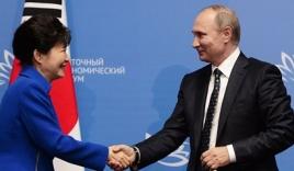 Món quà vô giá cho bà Park Geun-hye của ông Putin