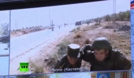 Video: Sĩ quan Nga dáo dác tránh đạn khi đang truyền hình trực tiếp