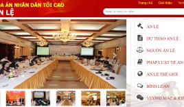 Trang tin điện tử Án lệ của TAND tối cao chính thức hoạt động