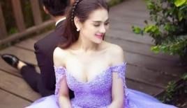 Lâm Chi Khanh tung loạt ảnh cưới lãng mạn