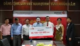 Lộ diện chủ nhân trúng giải Jackpot 160 tỷ đồng của Vietlott