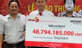 Lộ diện chủ nhân giải Jackpot trị giá 49 tỷ đồng của Vietlott