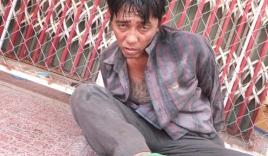Con nghiện cầm kim tiêm dính máu tấn công cảnh sát