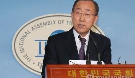 Tuyên bố mới nhất của ông Ban Ki moon về việc tranh cử Tổng thống