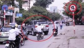 Quay đầu xe tại nơi cấm quay đầu xe bị phạt bao nhiêu?