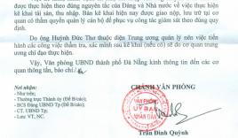 Đà Nẵng thông tin về nghi vấn Chủ tịch Thơ sở hữu khối tài sản lớn