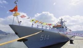 Trung Quốc đưa tàu diệt ngầm tàng hình ra Biển Đông