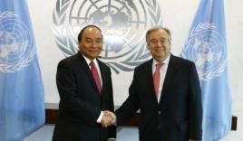 Biển Đông: Thủ tướng đề nghị Tổng thư ký LHQ thúc đẩy giải quyết tranh chấp