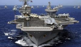 Tàu sân bay Mỹ tập trận tại Biển Đông cảnh báo Trung Quôc