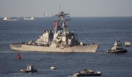 Mỹ ráo riết tìm 7 thủy thủ mất tích sau vụ tàu chiến đâm tàu hàng Philippines