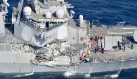Tình tiết đáng ngờ vụ khu trục hạm Mỹ bị tàu hàng Philippines đâm