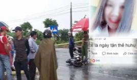 Rùng mình với dòng status của nữ sinh gặp tai nạn tử vong ở Bắc Ninh