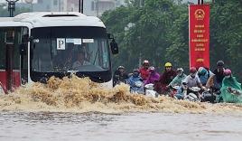 Chiều nay Hà Nội có thể mưa lớn giờ tan tầm, nhiều phố nguy cơ ngập