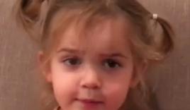 Màn lý sự cực yêu của cô bé 2 tuổi khi nói rằng tập Yoga thực chất chỉ là mật ong chảy tràn trên mặt