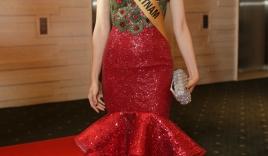 Huyền My bất ngờ trượt khỏi top 10 thí sinh được yêu thích nhất tại 'Miss Grand International 2017'