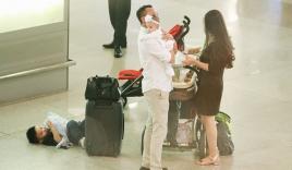 Vy Oanh lần đầu công khai lộ diện với ông xã, cả gia đình cùng trở về từ Mỹ thăm mẹ ốm nặng