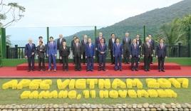 Chủ tịch Trần Đại Quang chụp ảnh lưu niệm cùng các lãnh đạo APEC