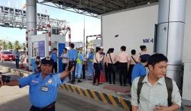 Phóng viên bị ngăn cản tác nghiệp tại BOT Cai Lậy