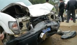 Xe UBND huyện va chạm với xe máy, 3 người tử vong trên quốc lộ