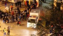 Đoàn xe đặc dụng dẫn giải ông Đinh La Thăng và đồng phạm về trại tạm giam