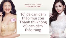 Nguyễn Thị Thành nói gì khi Lê Âu Ngân Anh bị đề nghị tước vương miện?