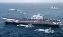 Đội hình tàu sân bay Trung Quốc đưa xuống Biển Đông bị chê tơi tả