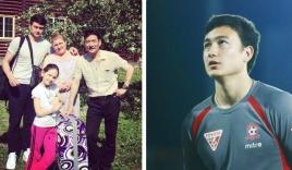Hình ảnh bên gia đình của Văn Lâm - thủ thành điển trai đang 'đốn tim' hàng loạt NHM
