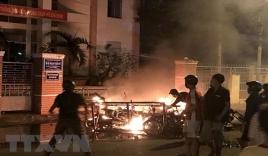 Vụ gây rối, phá trụ sở công quyền tại Bình Thuận: 34 đối tượng bị khởi tố