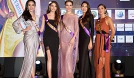 Ngắm nhan sắc lộng lẫy của dàn thí sinh Hoa hậu đại sứ du lịch Thế giới 2018 trong đêm tiệc