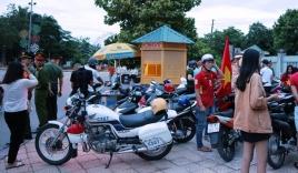Nghệ An: CSGT bắt hàng loạt xe 'đi bão' sai luật khiến các dân chơi không kịp trở tay
