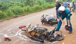 Va chạm xe máy, nữ giáo viên tử vong thương tâm