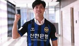Clip: Công Phượng được chào đón như sao hạng A khi ra mắt NHM Hàn Quốc
