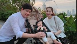 Hoa hậu Đặng Thu Thảo khoe chồng khéo chiều con khiến fan xuýt xoa