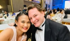 Diện váy táo bạo, vợ của chồng cũ Hồng Nhung lộ nhược điểm lớn