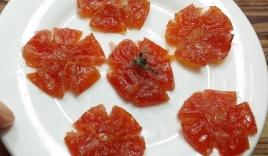 Cách làm mứt cà chua thơm ngon cực đơn giản đón Tết Nguyên đán Tân Sửu 2021