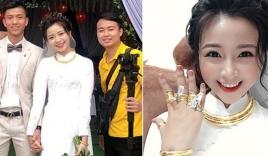 Vợ Phan Văn Đức khoe vàng đeo 'nặng trĩu' ngày cưới