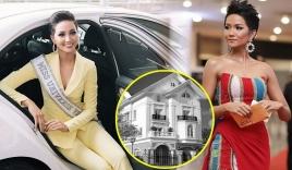 Lộ tài sản khủng của Hoa hậu H'Hen Niê sau khi ôm chồng tiền đi đóng thuế