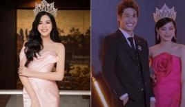 Hoa hậu Đỗ Thị Hà gây tranh cãi khi có hành động kém thân thiện với sao nam