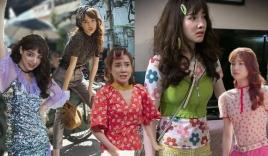 Phong cách thời trang xấu 'đảo điên' của Nhã Phương trong 'Cây táo nở hoa': Dân chơi nửa mùa thứ thiệt!