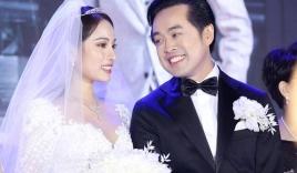 Động thái lạ của tình cũ khi Dương Khắc Linh thề thốt với Sara Lưu trong đám cưới
