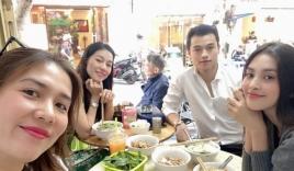 Hoa hậu Tiểu Vy đáp trả giữa nghi vấn hẹn hò với tình cũ đàn chị Huyền My